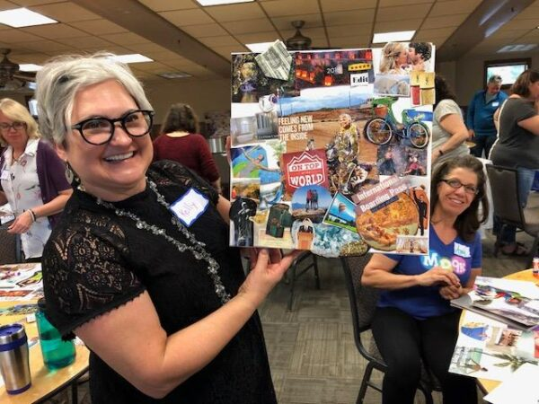 Vision Board Party with Feng Shui practitioner Ro Rusnock