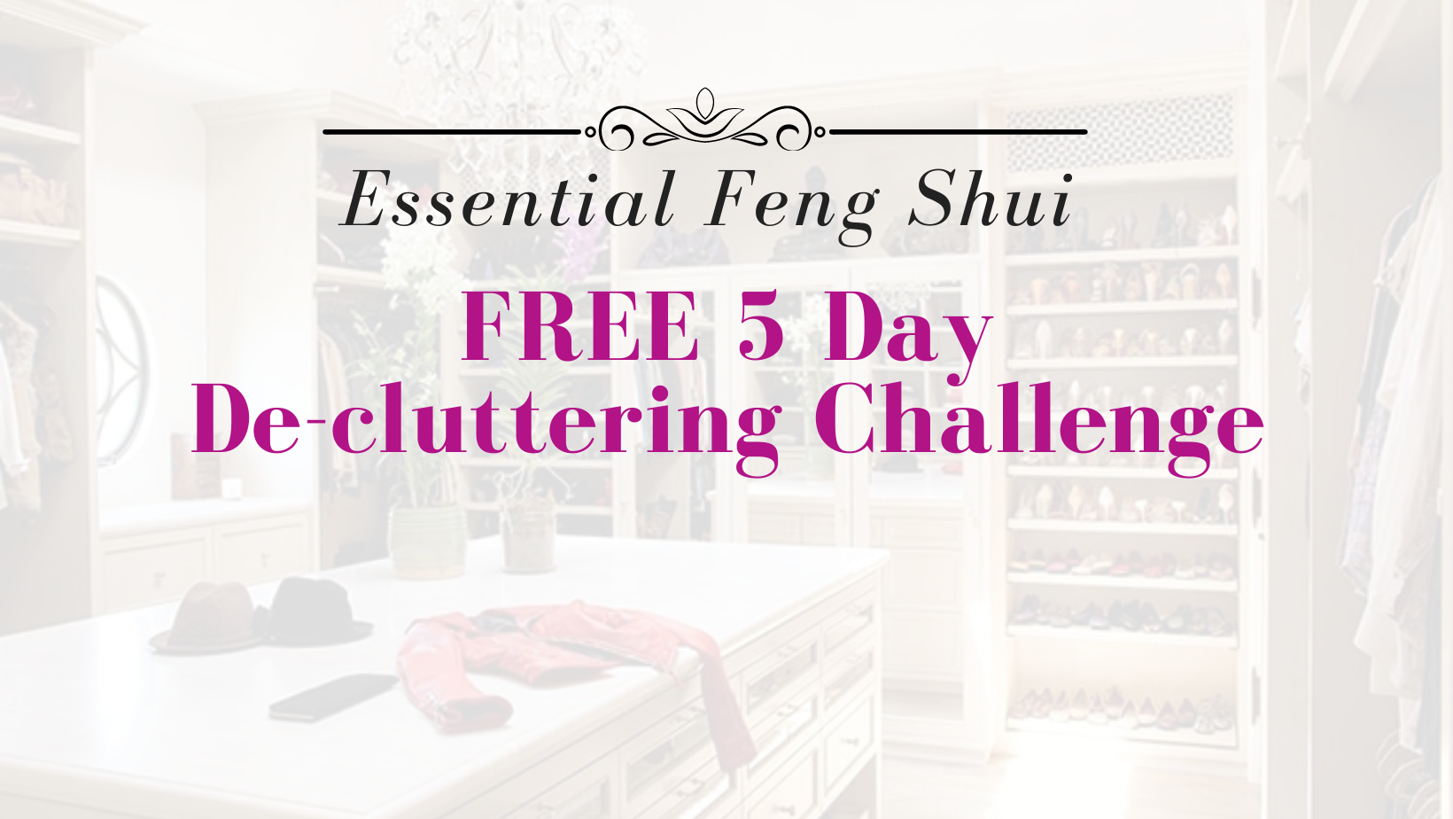 Large Cover Image for Free DeClutter Challenge